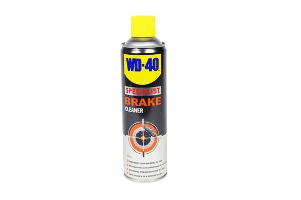 Effektiv rengöring med brake clean